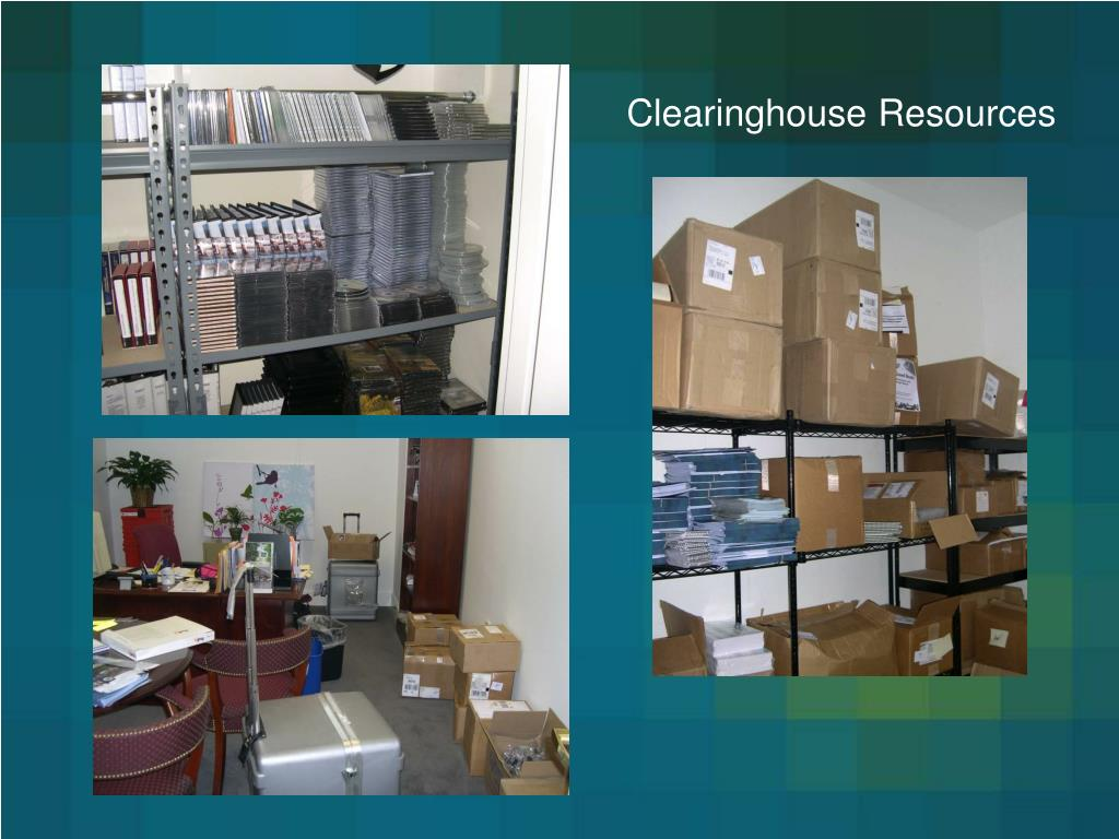 Clearinghouse Resources