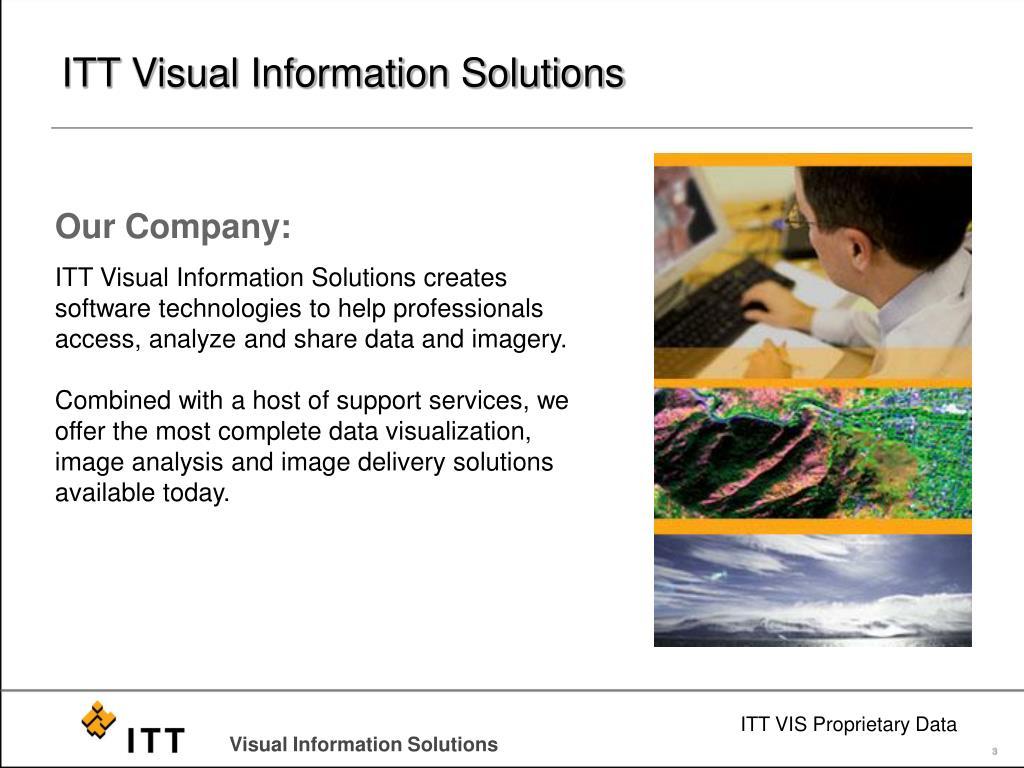ITT Visual Information Solutions