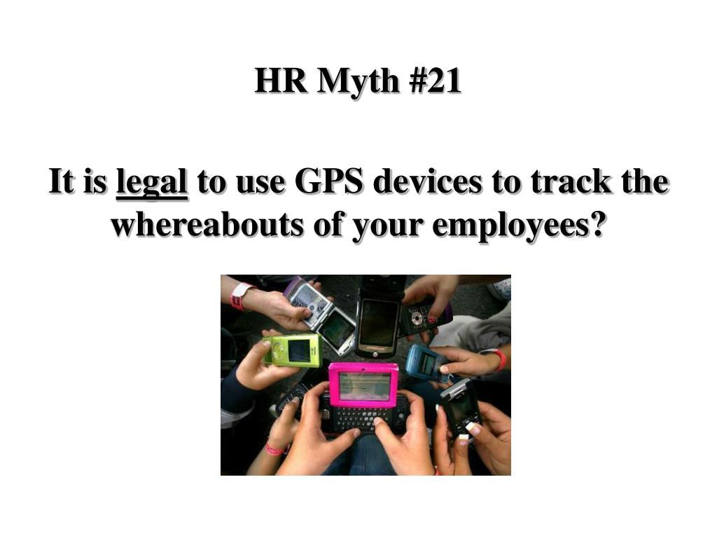 HR Myth #21