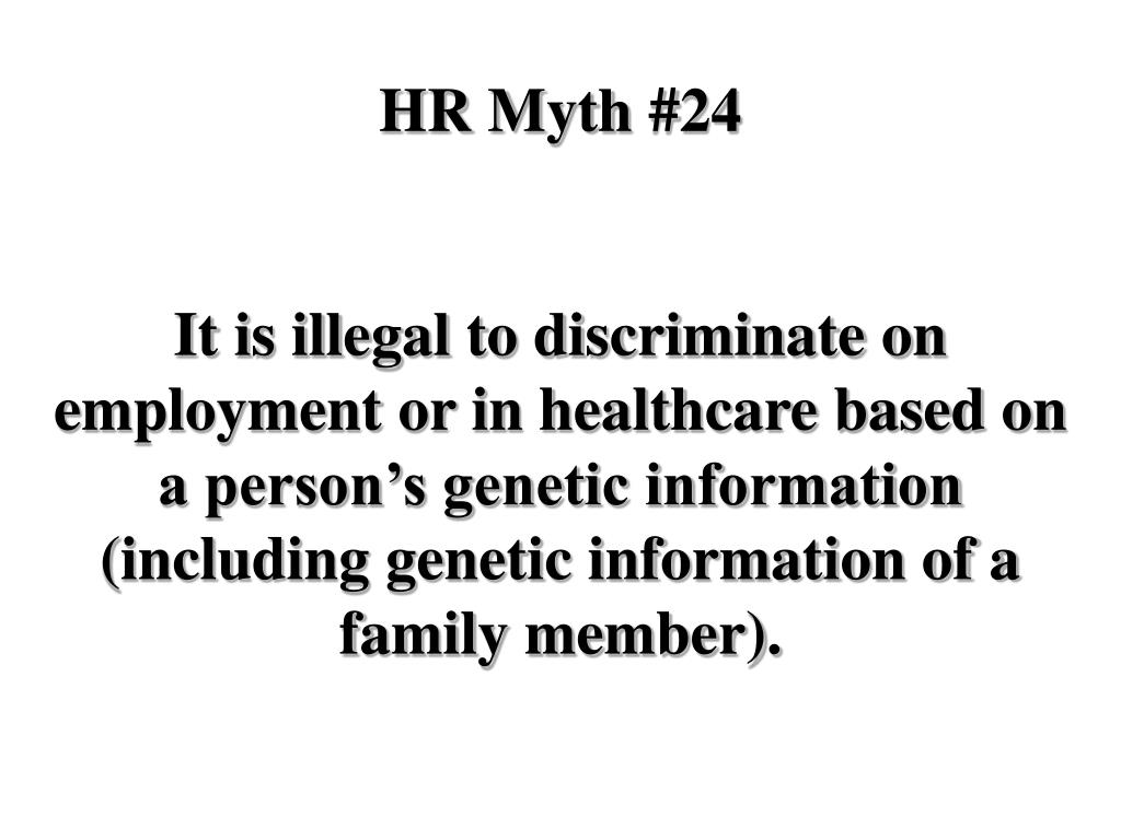 HR Myth #24