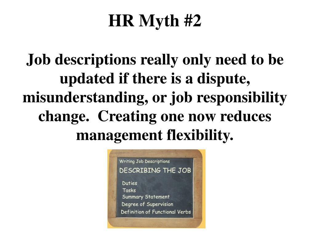 HR Myth #2