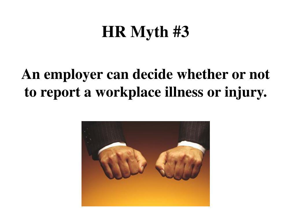 HR Myth #3