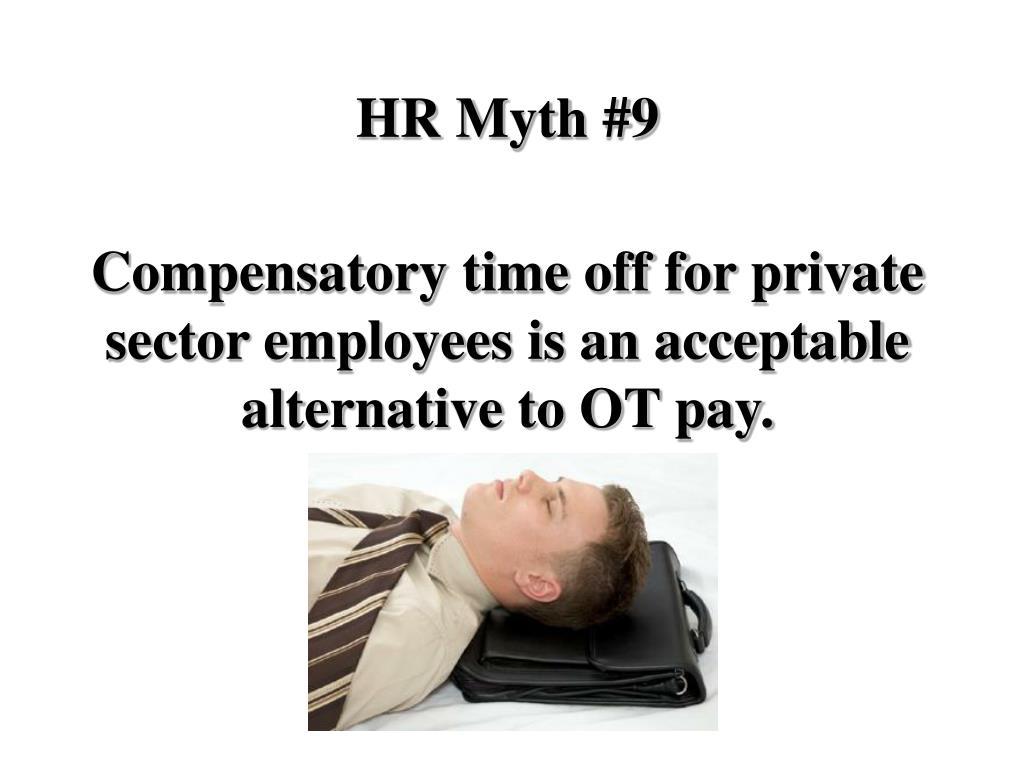 HR Myth #9