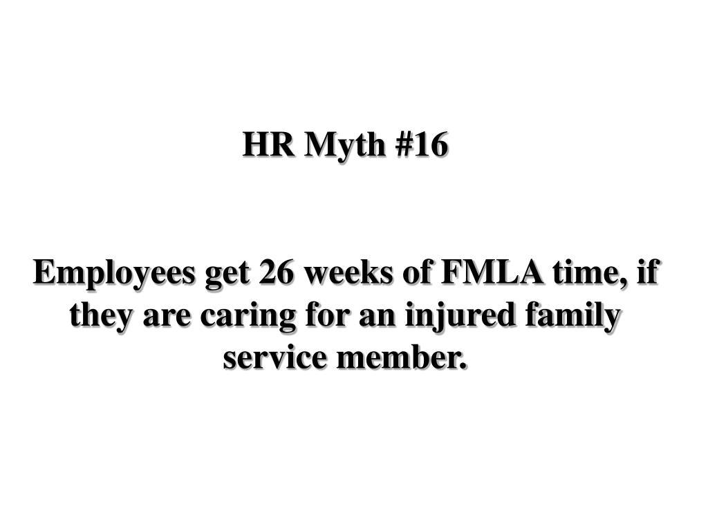 HR Myth #16