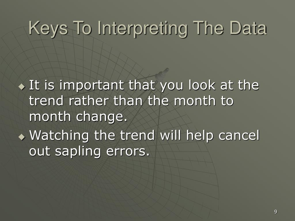 Keys To Interpreting The Data