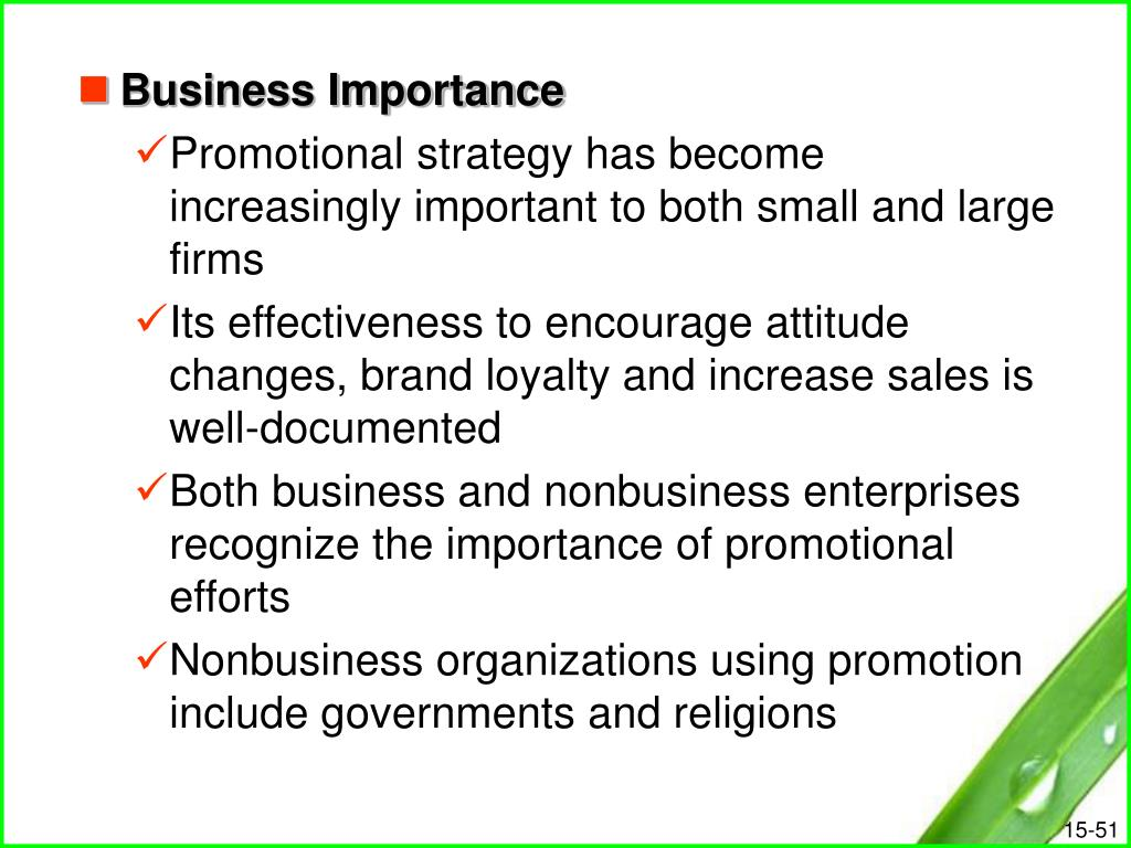 Business Importance