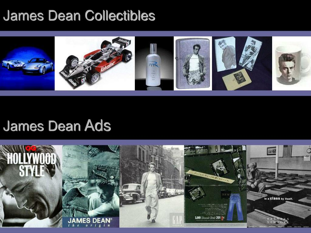 James Dean Collectibles