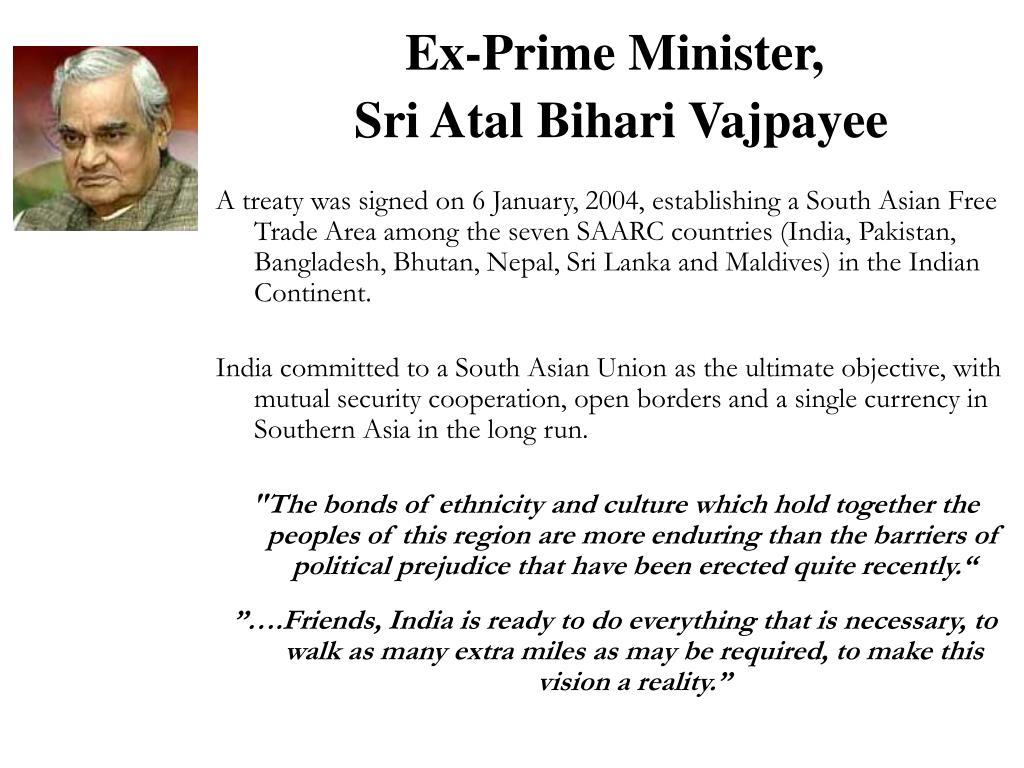 Ex-Prime Minister,