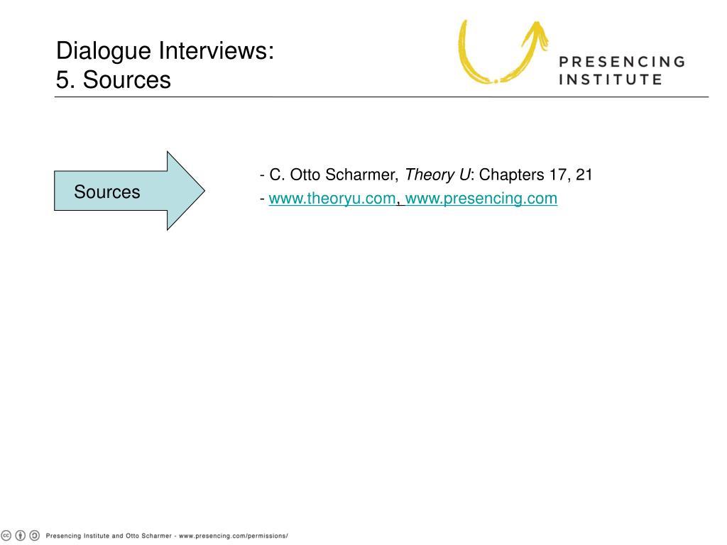 Dialogue Interviews: