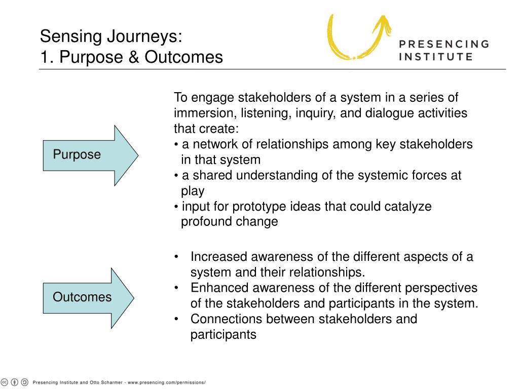 Sensing Journeys