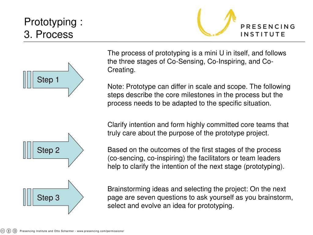 Prototyping :