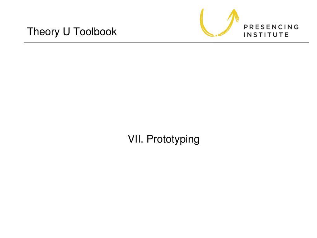 Theory U Toolbook