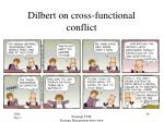 dilbert on cross functional conflict