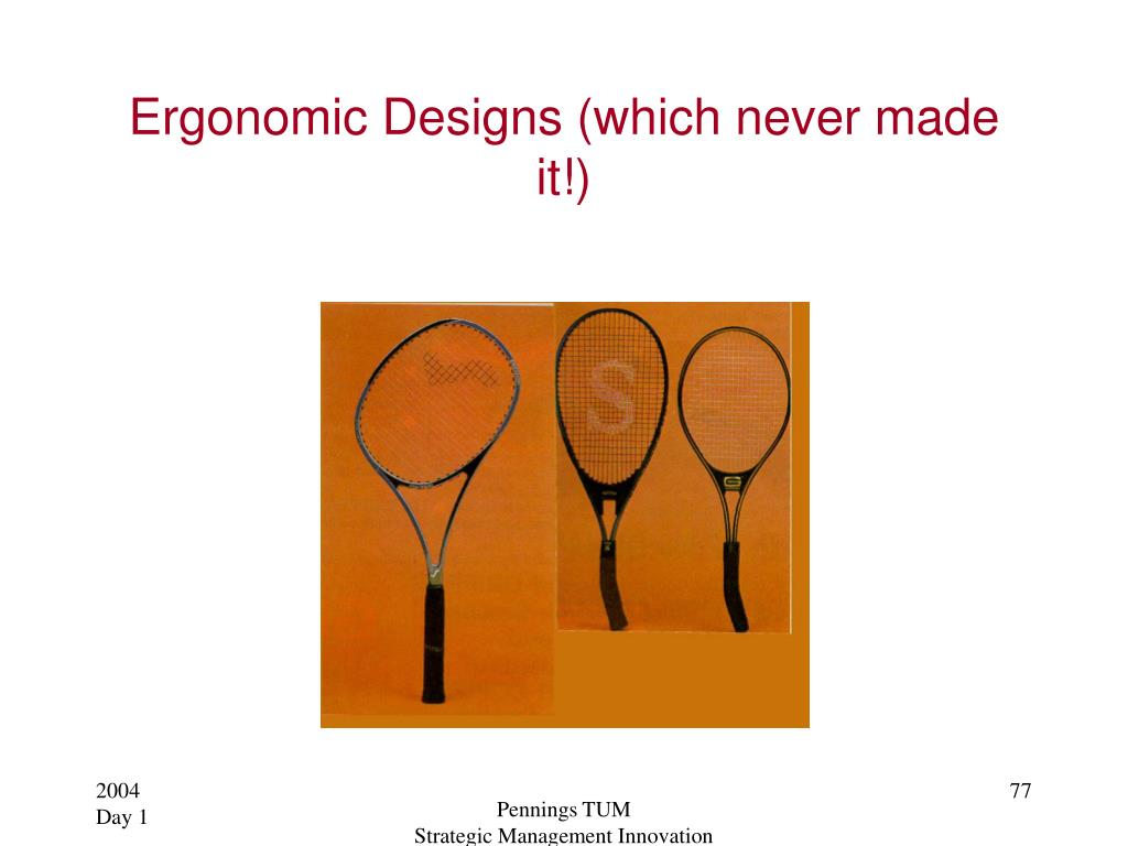 Ergonomic Designs (which never made it!)
