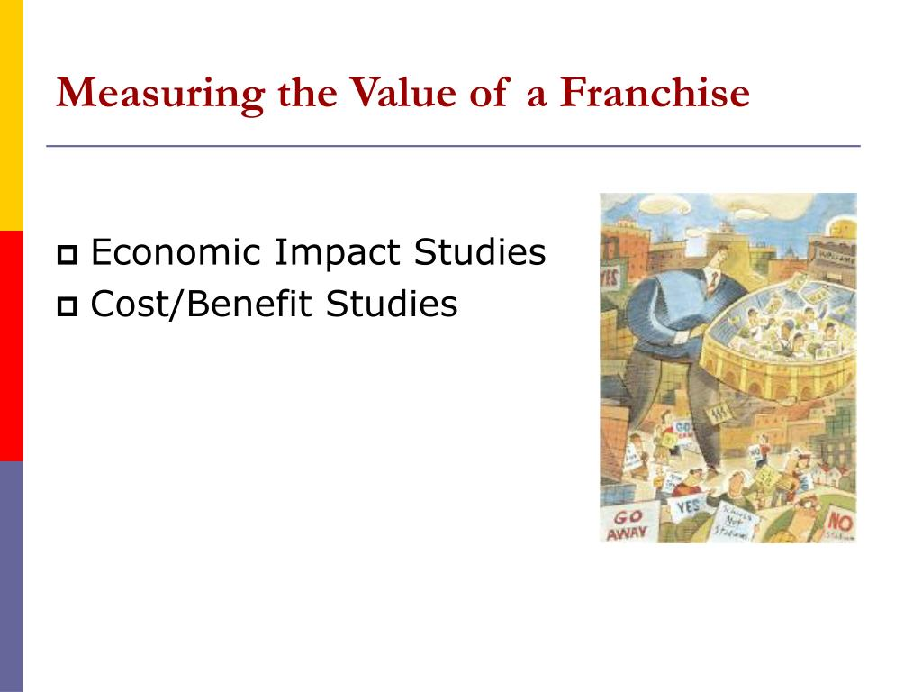Measuring the Value of a Franchise