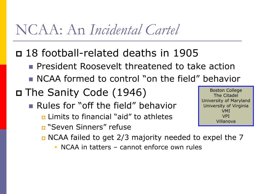 NCAA: An