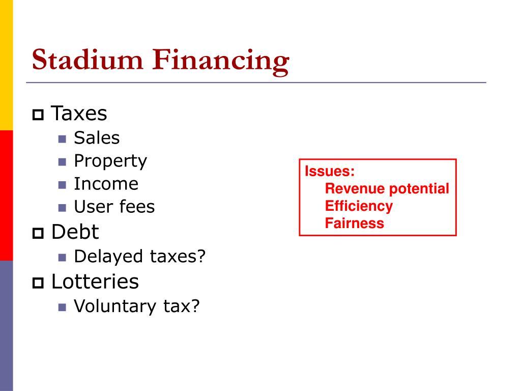 Stadium Financing