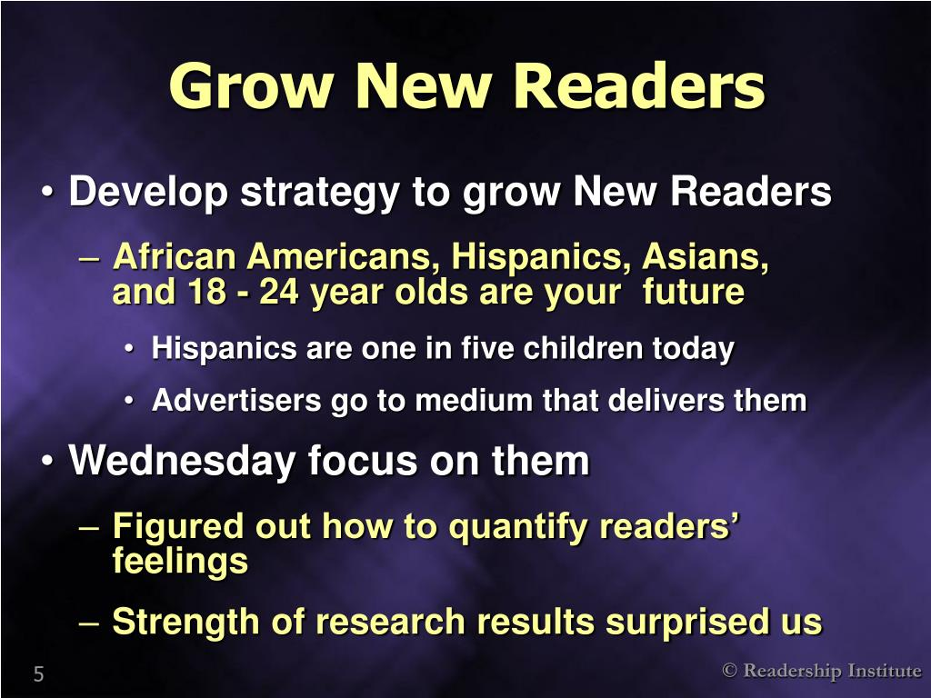 Grow New Readers