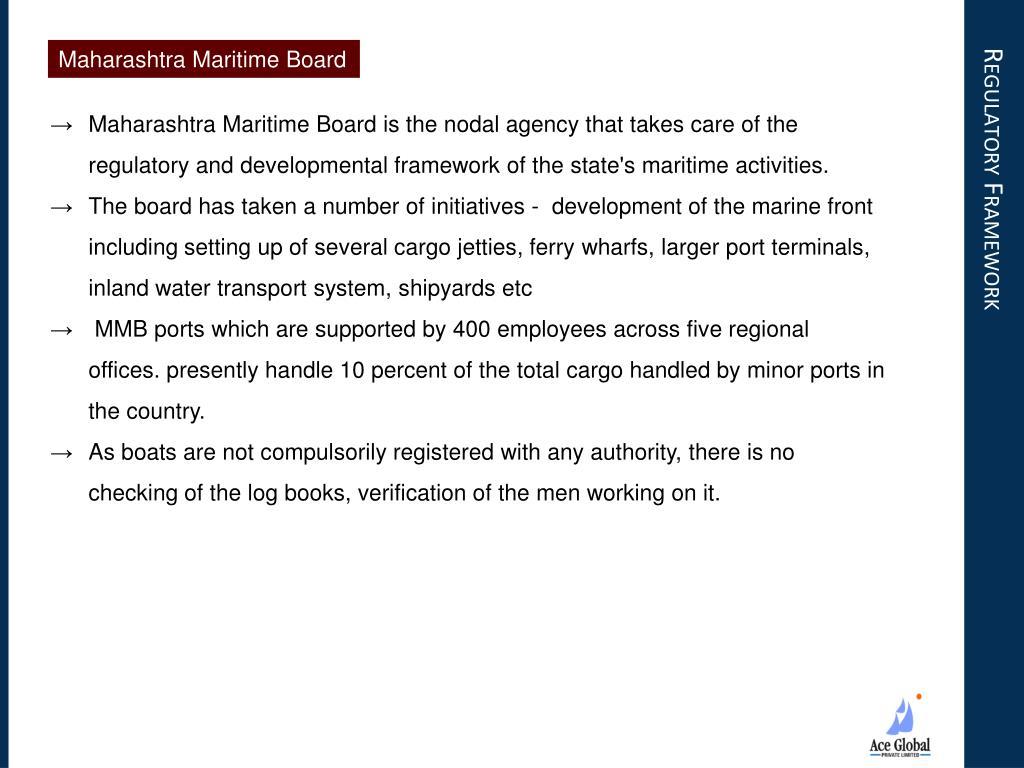 Maharashtra Maritime Board