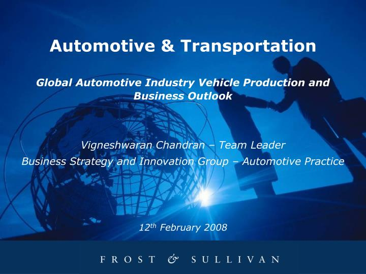 Automotive & Transportation