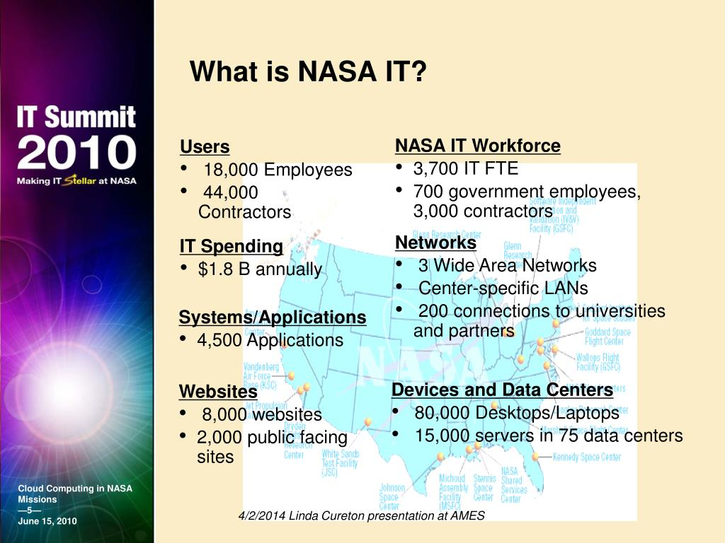 What is NASA IT?