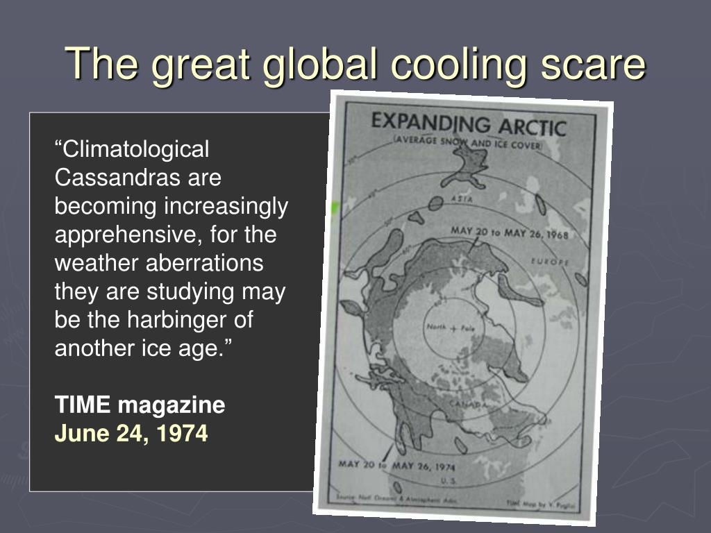 """""""Climatological Cassandras are becoming increasingly apprehensive, for the weather aberrations they are studying may be the harbinger of another ice age."""""""