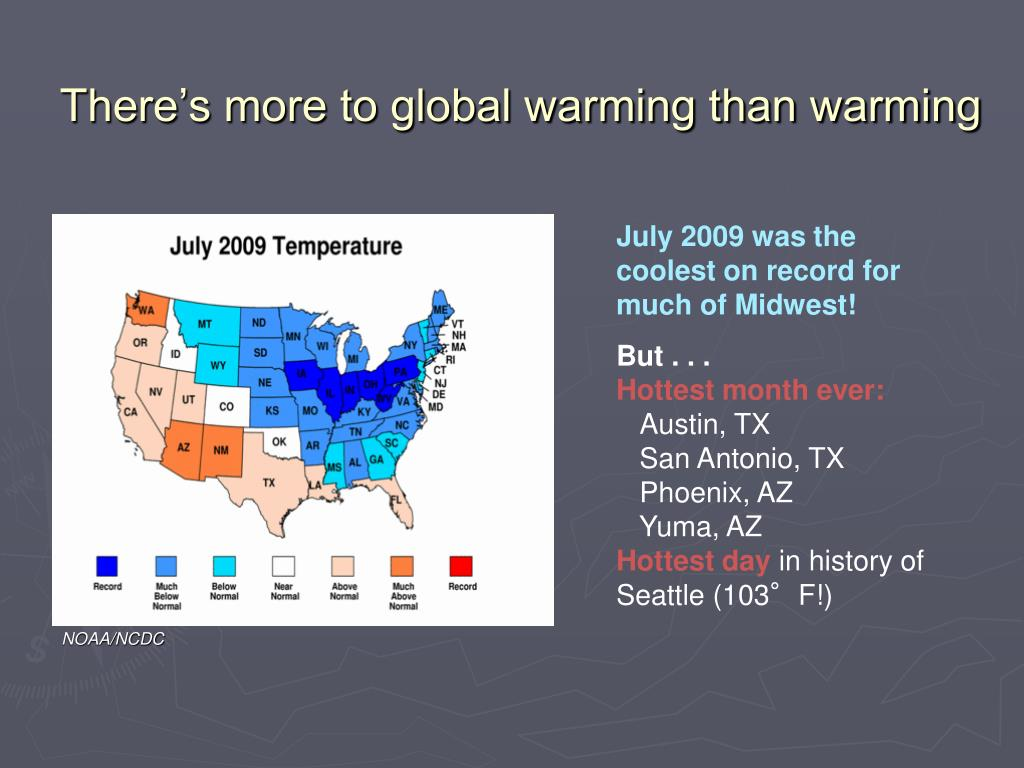 There's more to global warming than warming