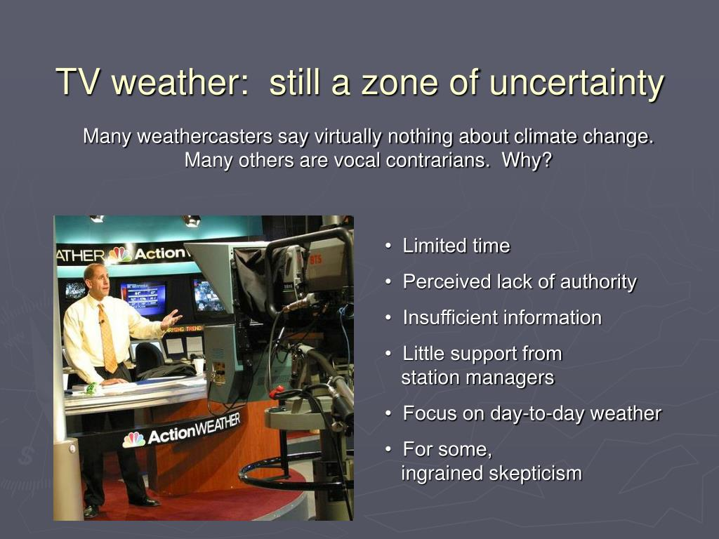 TV weather:  still a zone of uncertainty