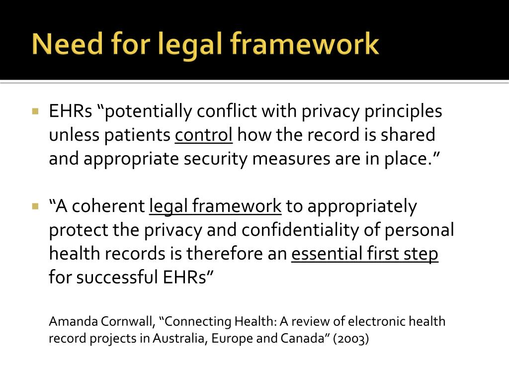 electronic medical records privacy confidentiality liability