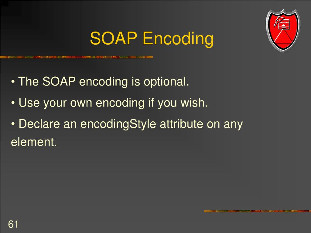 SOAP Encoding