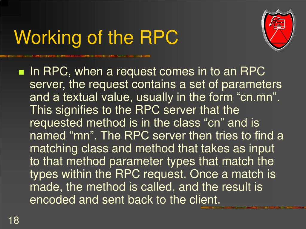 Working of the RPC