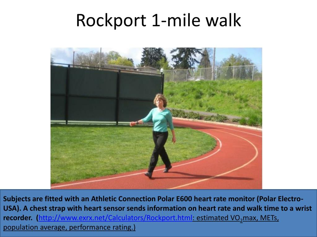 Rockport 1-mile walk