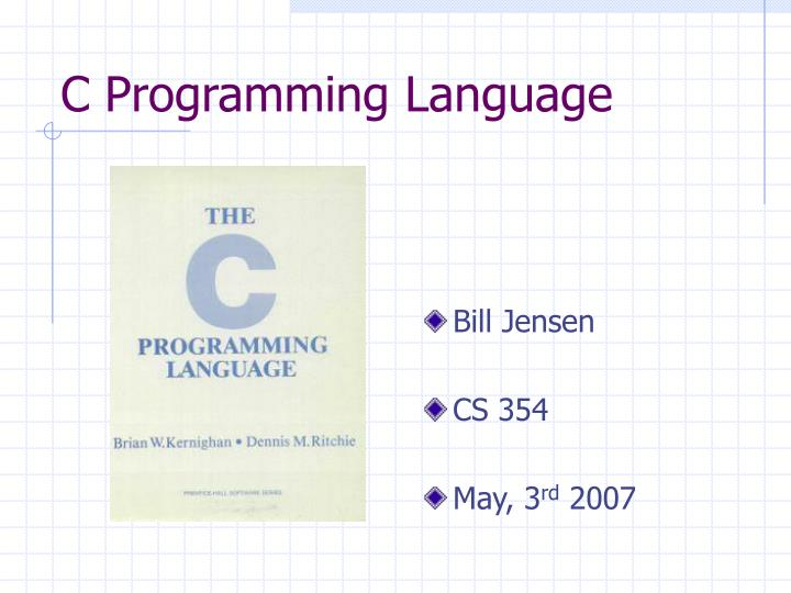 C programming language l.jpg