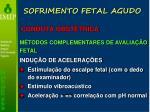 sofrimento fetal agudo35