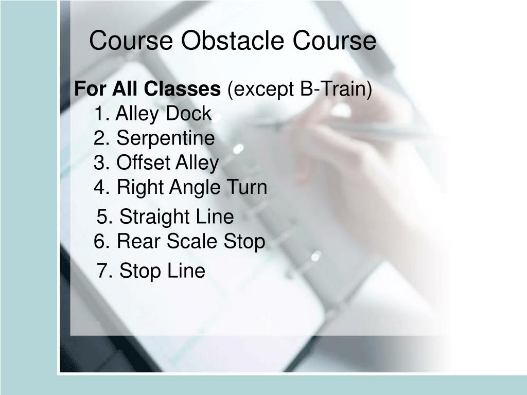 Course Obstacle Course