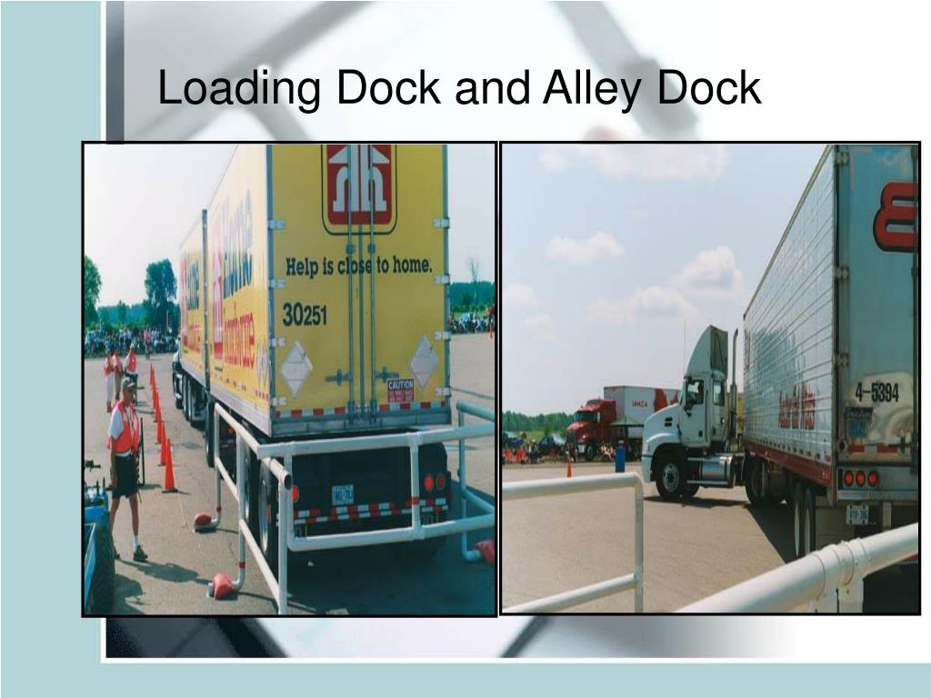 Loading Dock and Alley Dock