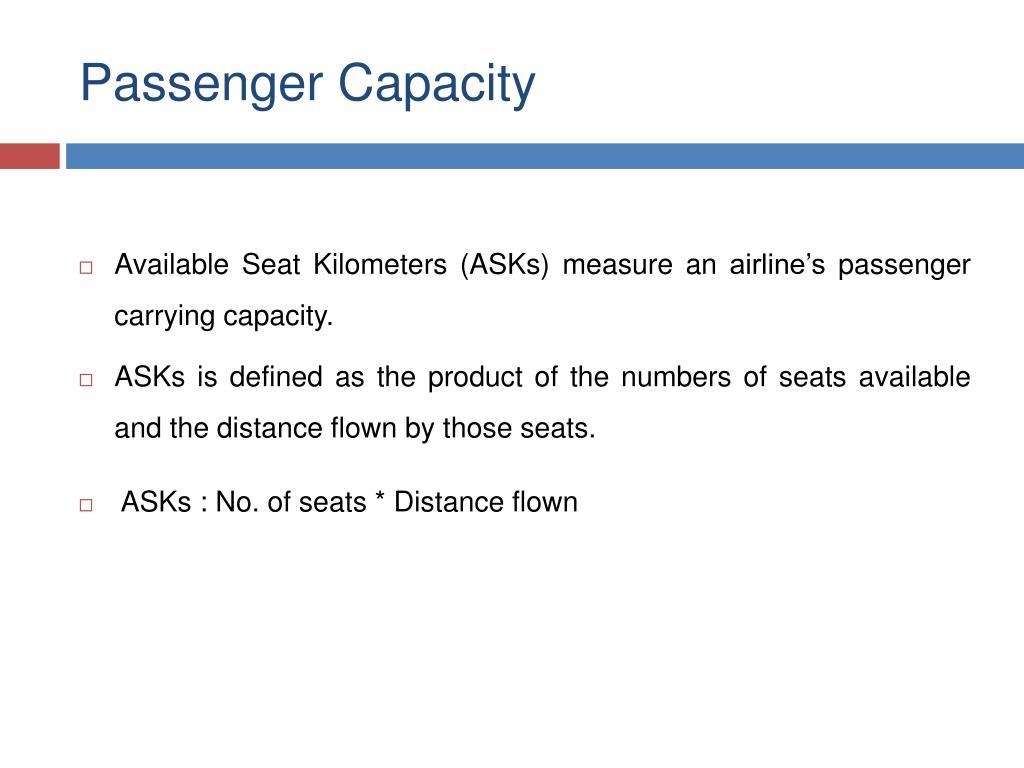 Passenger Capacity