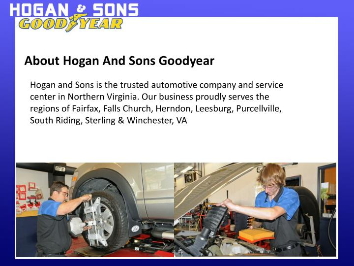 About Hogan And Sons Goodyear