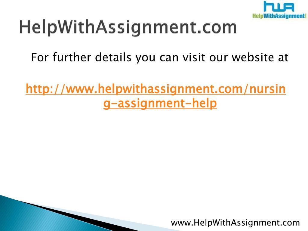 HelpWithAssignment.com