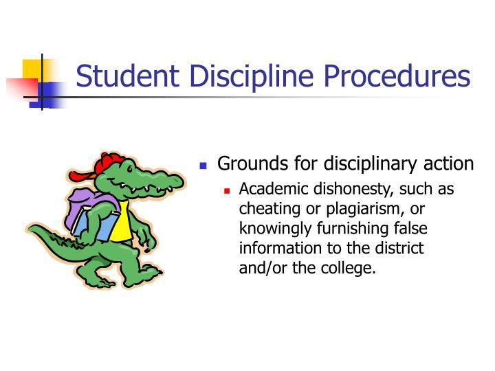 Student Discipline Procedures