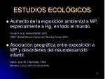 estudios ecol gicos37