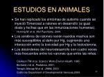 estudios en animales59