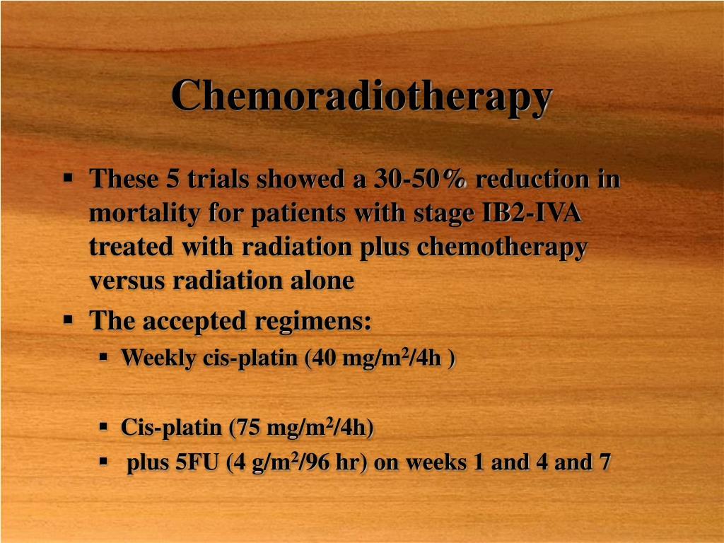 Chemoradiotherapy
