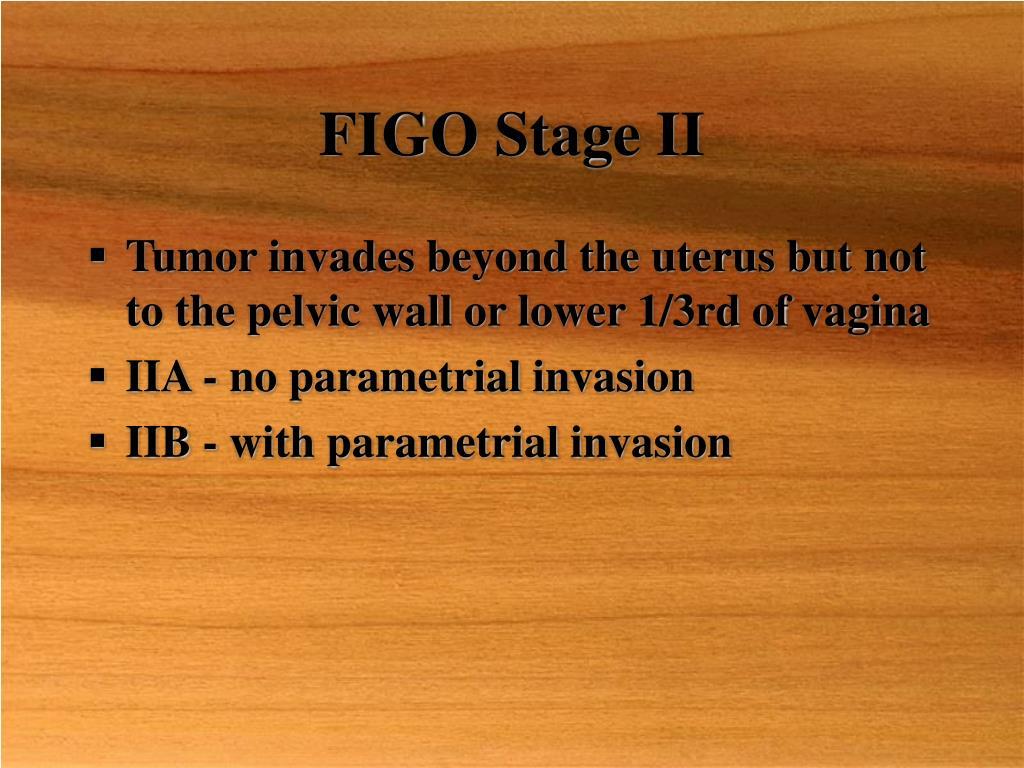FIGO Stage II