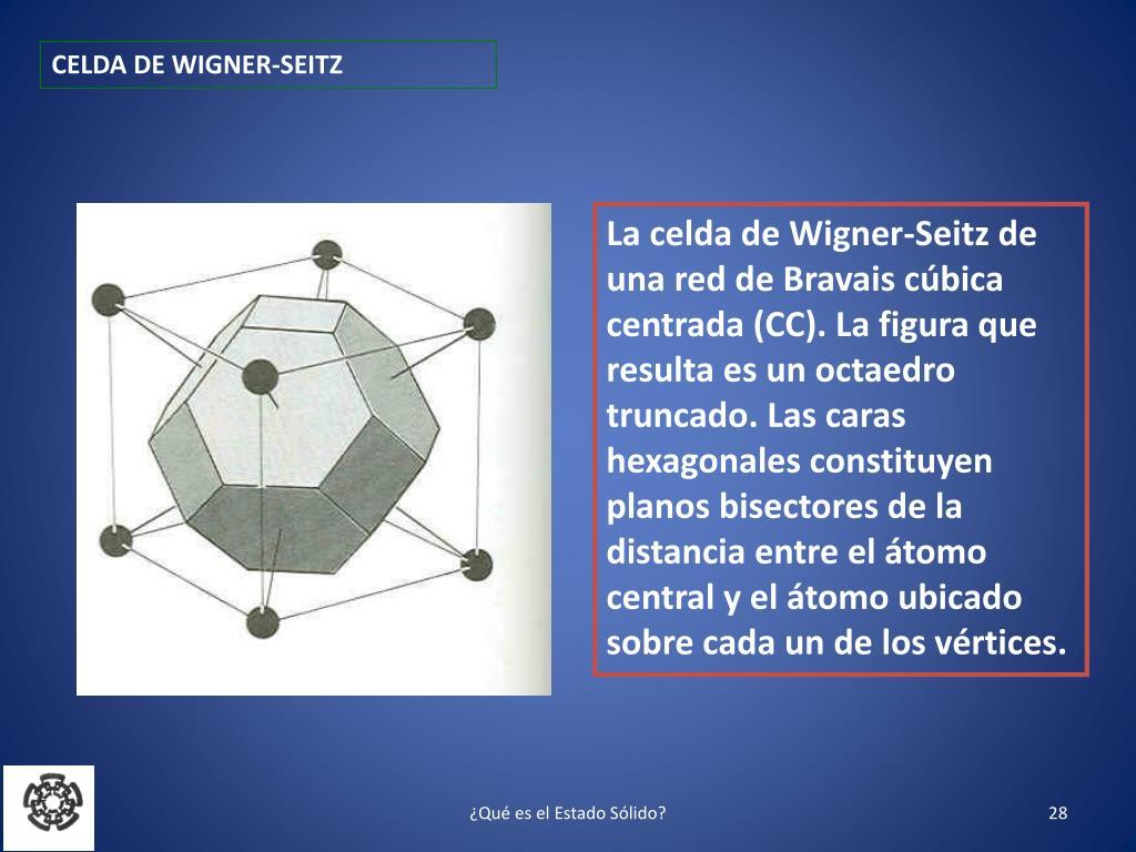 CELDA DE WIGNER-SEITZ