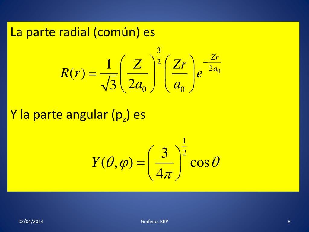 La parte radial (común) es