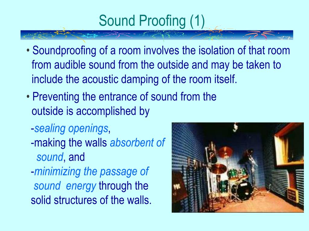 Sound Proofing (1)