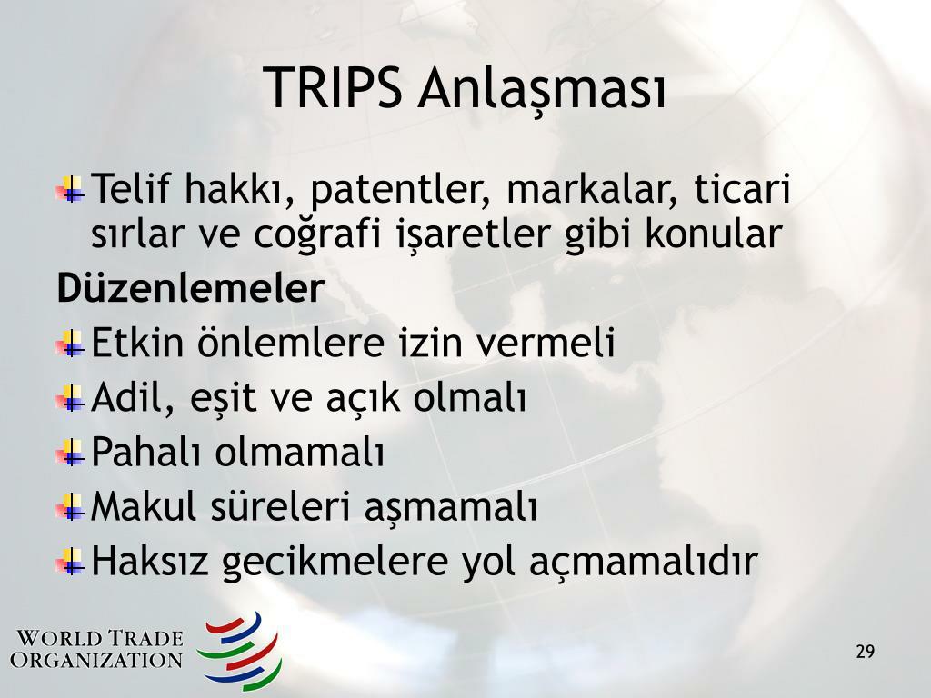 TRIPS Anlaşması