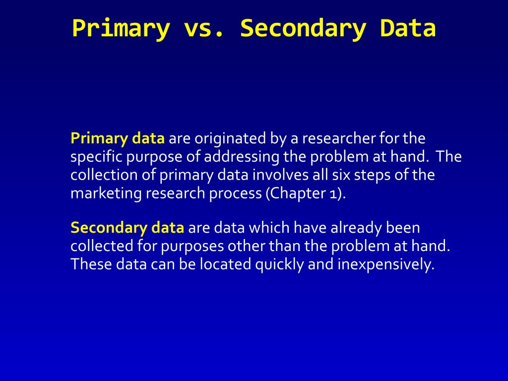 secondary market research definition Read an overview of different types of market research, including primary research, secondary research, qualitative research and quantitative research.