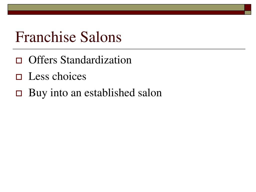 Franchise Salons